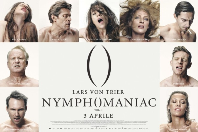 The Nymphomaniac Part 1 Il Poster Orizzontale Italiano