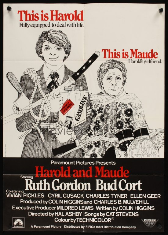harold and maude Harold and maude directed by hal ashby produced by colin higgins charles b mulvehill written by colin higgins starring ruth gordon bud cort music by cat stevens cinematography john alonzo.